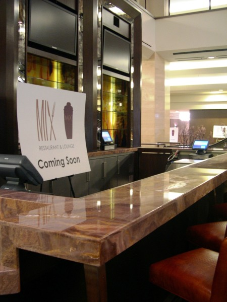 Mix Lounge lobby bar - Coming Soon