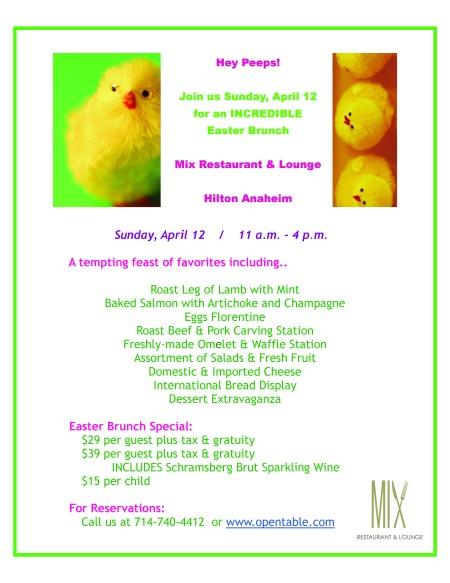 Easter Brunch Flyer