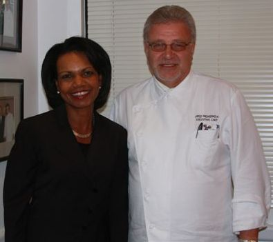 Condoleezza Rice-Chef Fred Mensinga