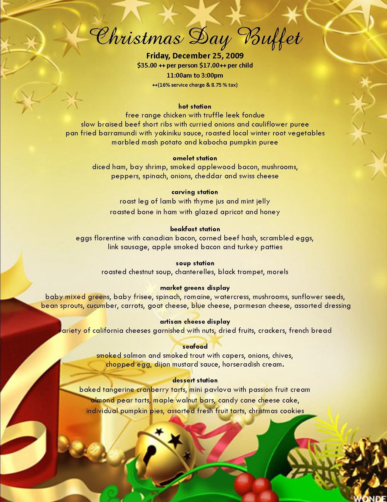 Anaheim Christmas Dinner | Today @ Hilton Anaheim